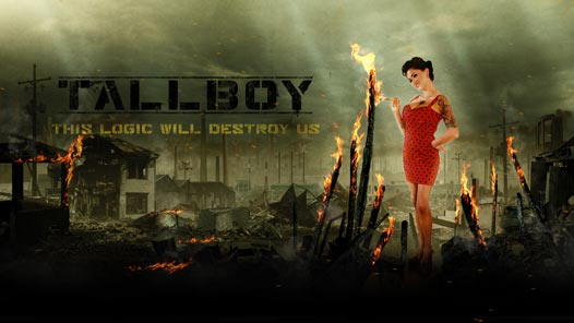 Tallboy Album Artwork - Cover / Back