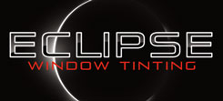 Eclipse Window Tinting - Business Card Design